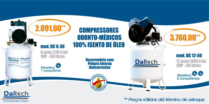 Veja os Compressores Odonto-Médicos